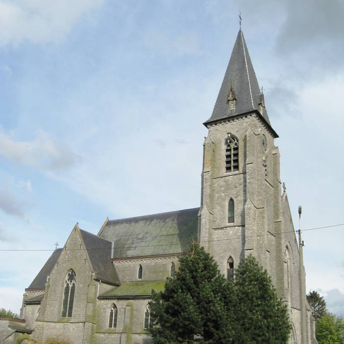 Saint-Martin kerk - Darion